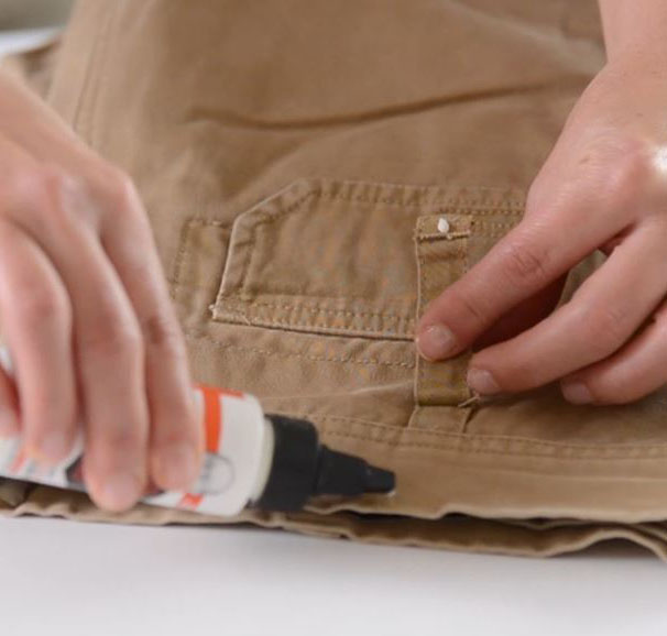 Tear Mender Repairs Ripped Belt Loops In 3 MInutes