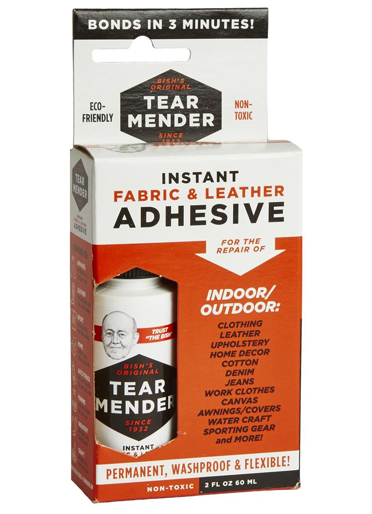 Tear Mender Instant Fabric Adhesive - 2 oz Bottle